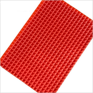 Non-Stick & Oil Reduction Cooking Mat Red / S Baking Inserts
