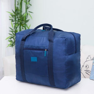 Packable Travel Duffel Bag Blue Travel Bags