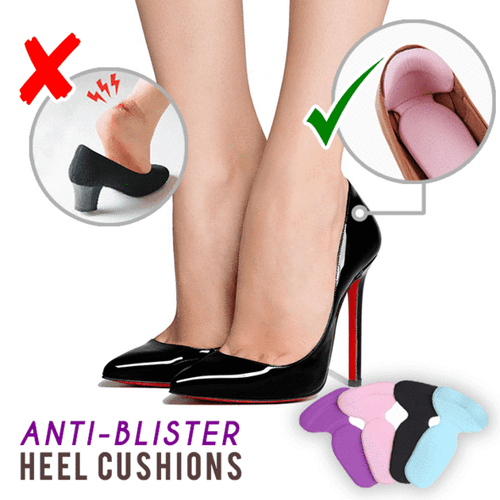 Pain Killer Heel Cushion (2PCS Set) Pink Foot Insoles