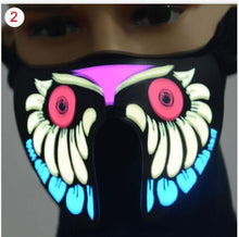 Load image into Gallery viewer, Party Masks 2 LegaTRON® Premium LED face mask