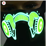 Party Masks 4 LegaTRON® Premium LED face mask