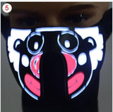 Party Masks 5 LegaTRON® Premium LED face mask