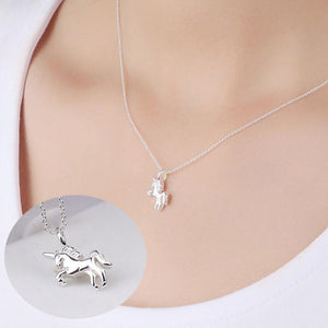 Pendant Necklaces Life Is Magical Unicorn Horse Necklace