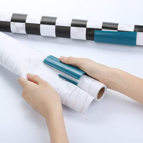 Perfect Line - Wrapping Paper Slider Blue Paper Slider