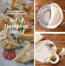 Load image into Gallery viewer, Perfect Press Dumpling Maker (2 pcs set) Dumpling Maker