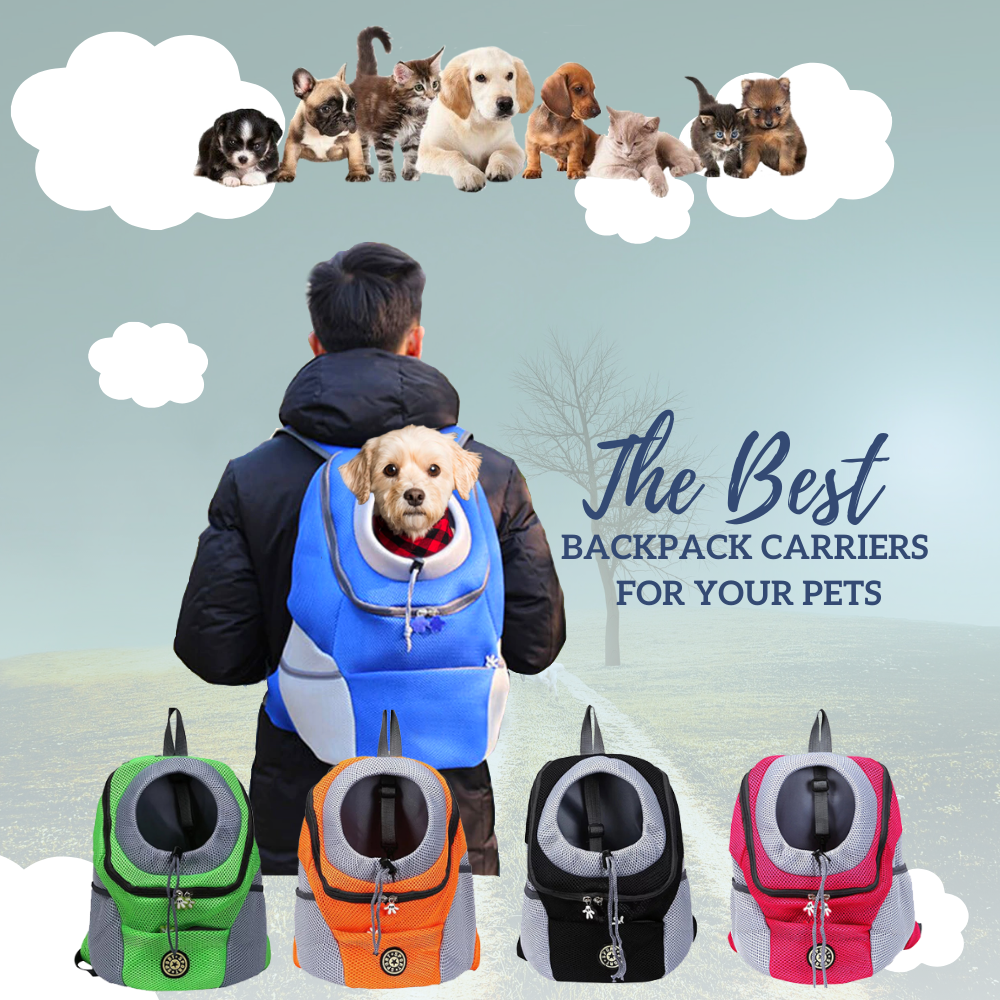 Pet On the Go - Travel Backpack Pet Bag