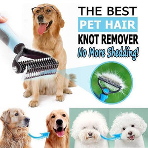 Pet's First - Hair Knot Remover Blue Pet Hair Remover