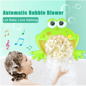 Play & Listen Crab/Frog Bubble Maker Frog Bubbles
