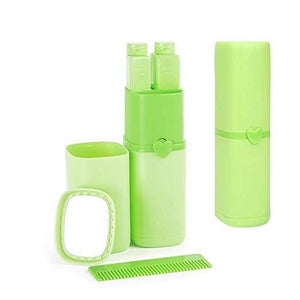 Portable Travel Wash Cup Green Bathroom Tumblers