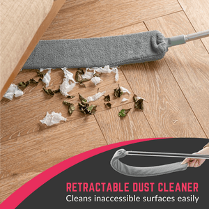 Reach At Ease - Retractable Dust Cleaner Dust Cleaner