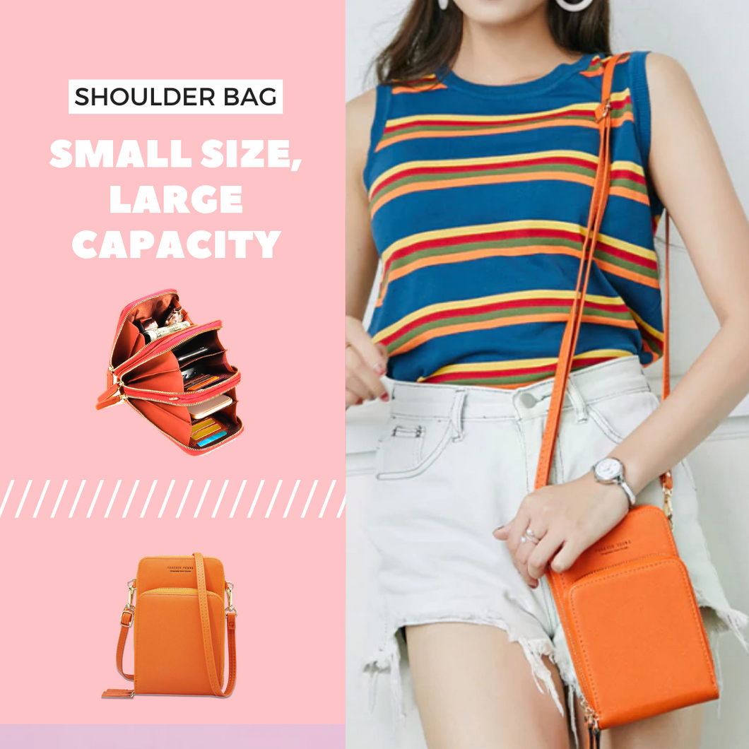 Ready To Go Shoulder Bag Orange Shoulder Bags