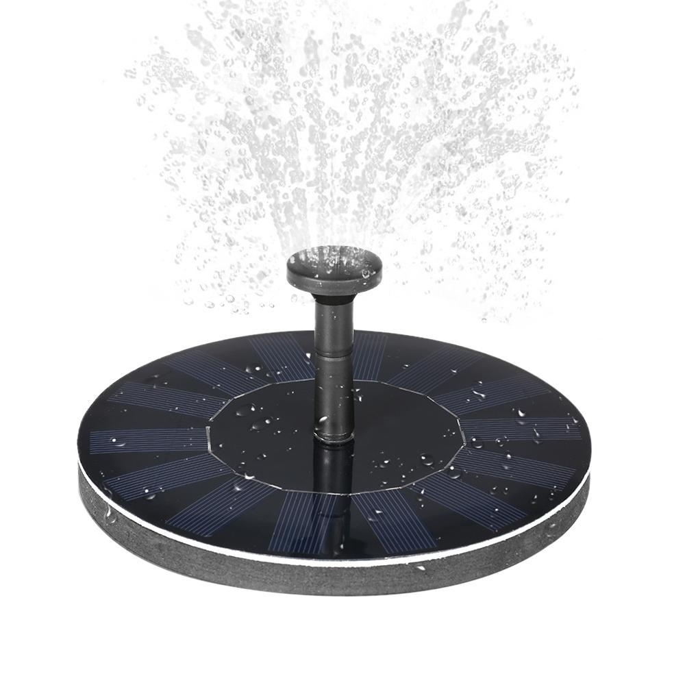 Refreshing Water Fountain (Solar Powered) Water Pumps