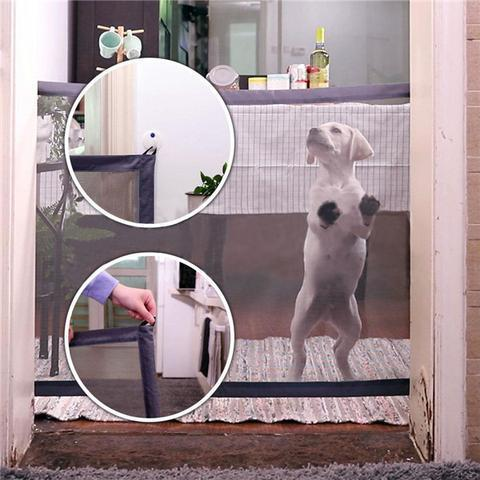 Safe and Portable Pet Folding Gate for Indoor and Outdoor Dog Gate