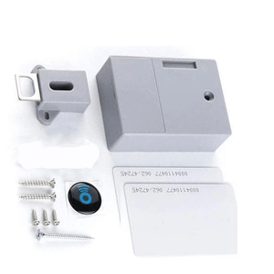 Safety On - Smart Drawer Lock (3 pcs set) Set C (1 door lock with 2 RFID cards) Drawer Look