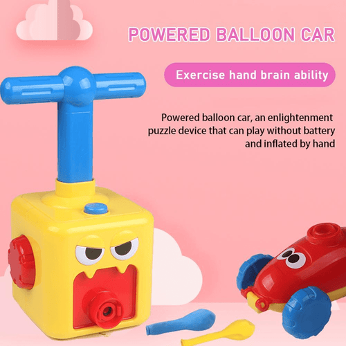 Scientific Toy 2020 - Power Balloon Car Balloon Car