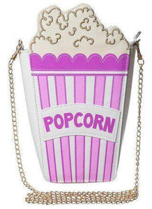 Shoulder Bags purple Cute Popcorn Shape Shoulder Bag