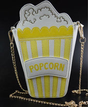 Load image into Gallery viewer, Shoulder Bags yellow Cute Popcorn Shape Shoulder Bag