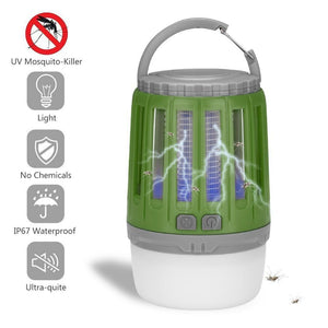 Silent Killer - LED Mosquito Killer Lamp Green Mosquito Killer Lamps