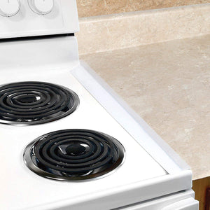 Silicone Stove Gap Cover (2PCS) Transparent Stove Covers