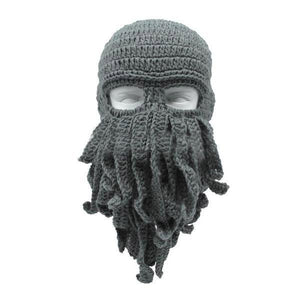 Skullies & Beanies Gray OctopuZ Alien Beanie