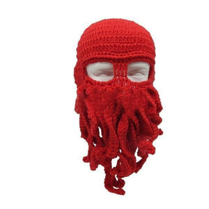 Skullies & Beanies Red OctopuZ Alien Beanie