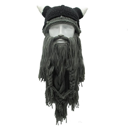 ... Skullies   Beanies The Legendary Barbarian Beard Beanie - VikingX 04677e98436