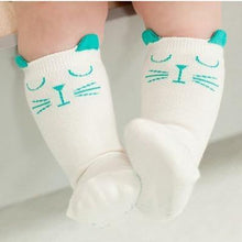 Load image into Gallery viewer, Socks Beige / 4-6 months Toddler Knee High Sock