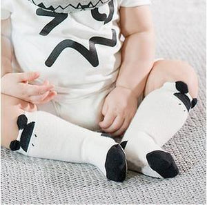 Socks Black / 4-6 months Toddler Knee High Sock