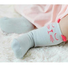 Load image into Gallery viewer, Socks Red / 4-6 months Toddler Knee High Sock