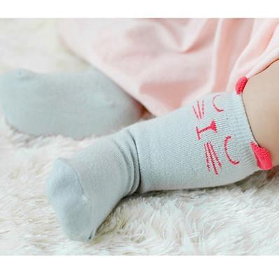 Socks Red / 4-6 months Toddler Knee High Sock