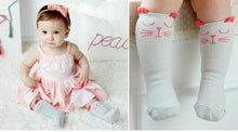Load image into Gallery viewer, Socks Toddler Knee High Sock