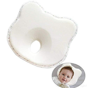 Soft Anti Flat Head Baby Pillow White Bear Baby Pillows