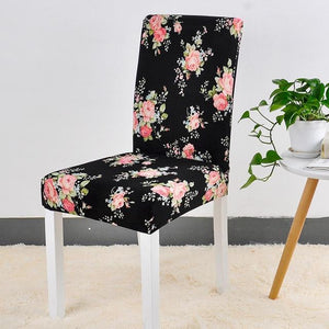 Spandex Chair Cover Stretch Elastic Dining Seat Cover for Banquet Wedding Restaurant Hotel Anti-dirty Removable housse de chaise color 18 / universal sizes Chair Cover