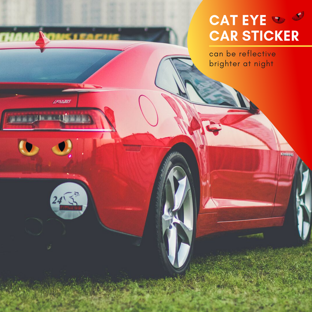 Spark At Night - Cat Eye Sticker (2 pcs set) Car Stickers