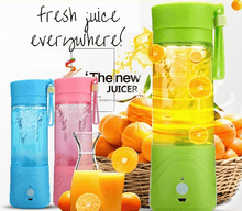 Load image into Gallery viewer, Squeezers & Reamers Green HYPERSHAKER - Portable USB Personal Blender