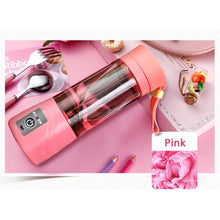 Load image into Gallery viewer, Squeezers & Reamers Pink HYPERSHAKER - Portable USB Personal Blender