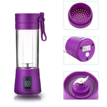 Load image into Gallery viewer, Squeezers & Reamers Purple HYPERSHAKER - Portable USB Personal Blender