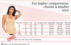 Stay Fabulous - Body Shaper Compression Compression Top