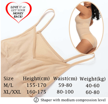 Load image into Gallery viewer, Stay-Sexy High Waist Shapewear (2 pcs set) Bodysuits