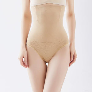 Steel Bone Waist Control Shapewear High Waist Women Thongs Underwear Butt Lifter Tummy Control Panties Body Shaper D328 Control Panties