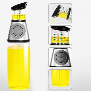 Store & Control - Oil Dispenser Gray Bottles
