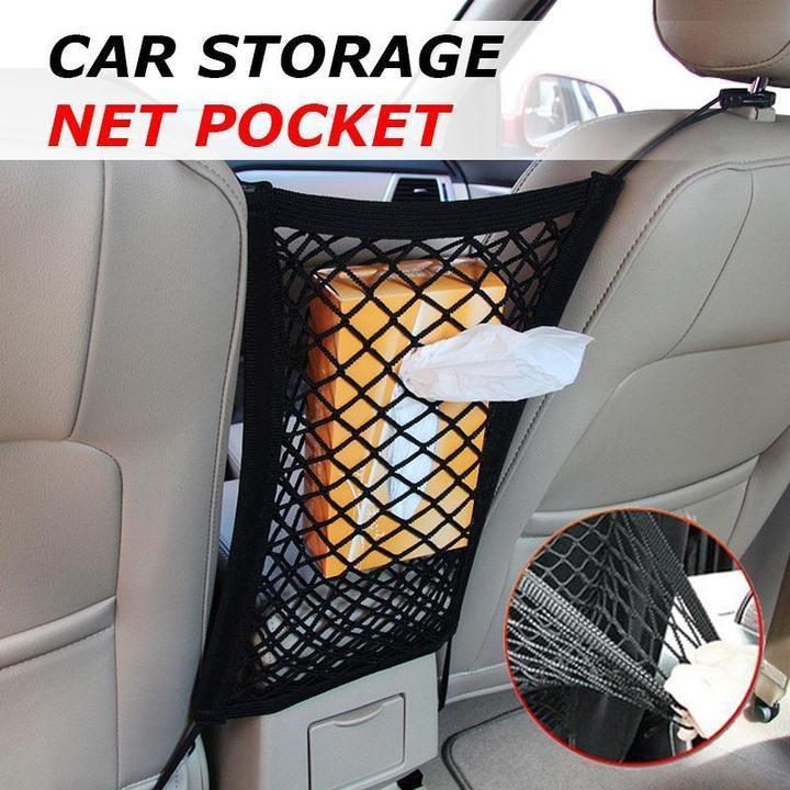 Stretch & Hook - Premium Car Storage Net Car Nets