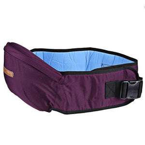 Strong Hold Belt Baby Carrier Purple Backpacks & Carriers