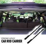 Strong-Hold Car Rod Carrier (2pcs) Fishing Tools