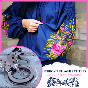 Stylish Patterns - Flower Stitch Foot Press Sewing Tools & Accessory