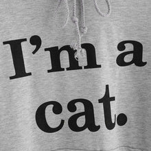 Load image into Gallery viewer, Sweatshirts I'M A CAT - Cat Ear Hoodie Sweatshirt