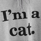 Sweatshirts I'M A CAT - Cat Ear Hoodie Sweatshirt