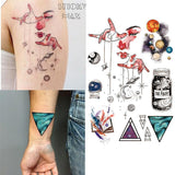 Temporary Tattoos Outer Space Universe Temporary Tattoo