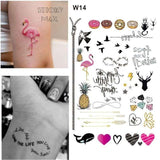 Temporary Tattoos T14 - infinity Outer Space Universe Temporary Tattoo