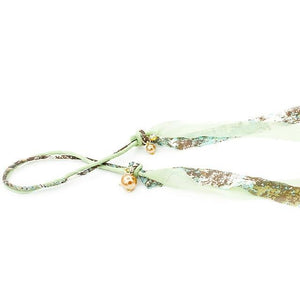 Tie-it-Cute Hair Buns (3PCS Set) Light Green Hair Accessories